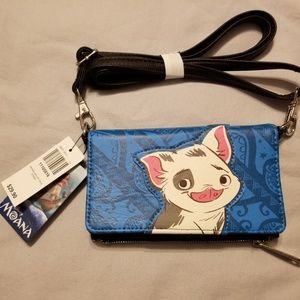 Disney wallet with strap New with tag